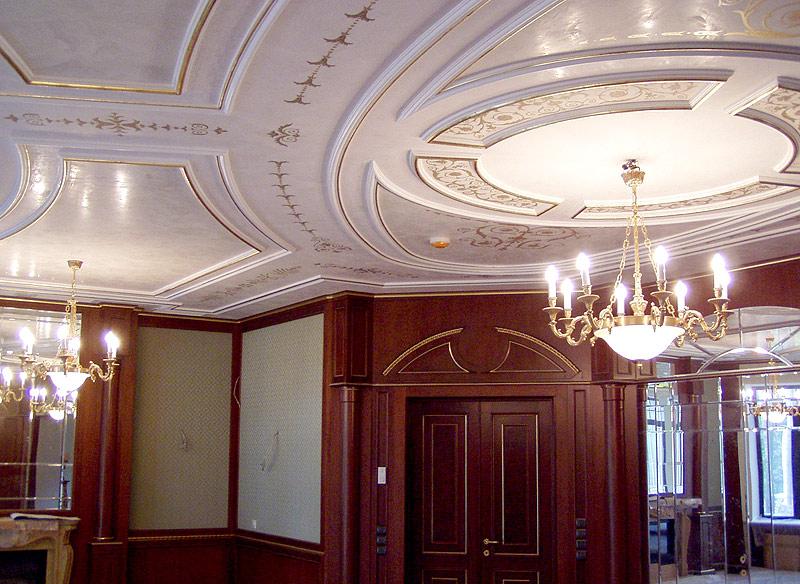 Потолки для зала своими руками фото